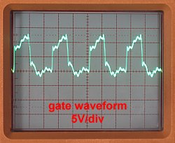 gate waveform
